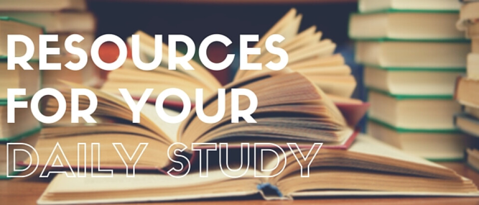 Daily Study Resources | Grace Presbyterian Church | Hamptons