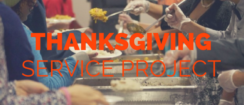 Thanksgiving Service Project
