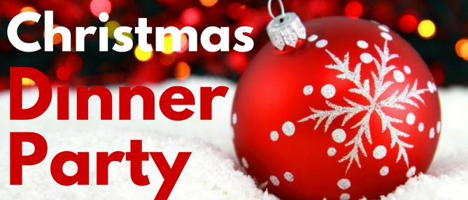 Christmas Dinner Party - Sunday, December 17 2017 5:00 PM