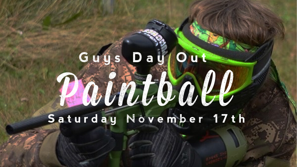 Guys Day Out  - Paintballing!