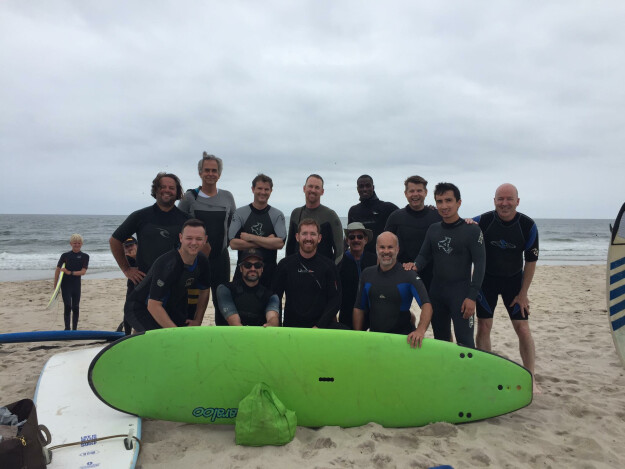 Guys Day Out - Surfing