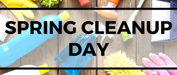 Annual Spring Cleanup Day - May 5 2018 9:00 AM