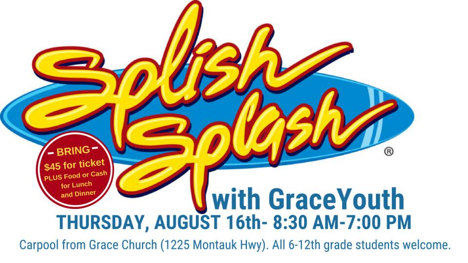 Grace Youth - Splish Splash