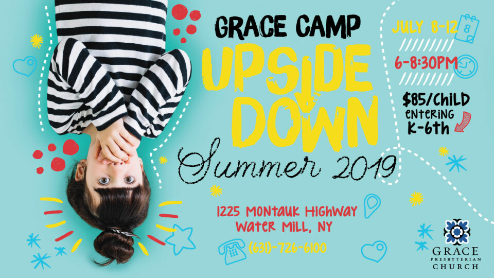 GraceCamp: UPSIDE DOWN