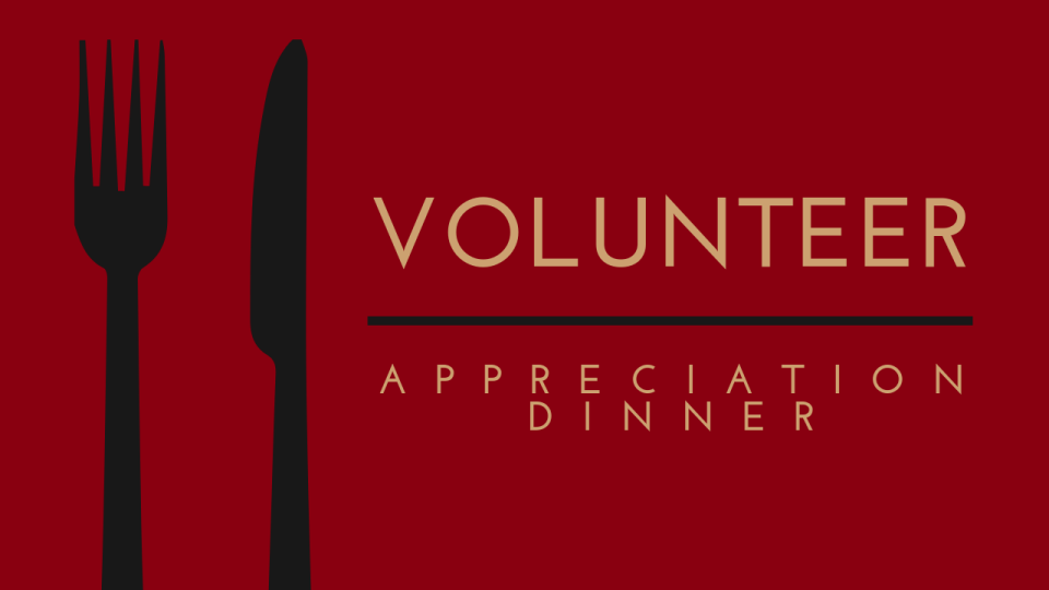 Image result for volunteer appreciation dinner""