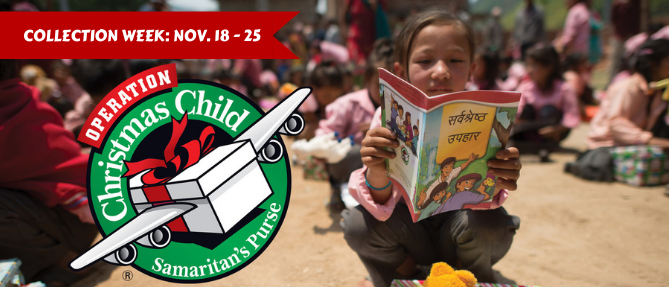 Operation Christmas Child - Nov 18 2019