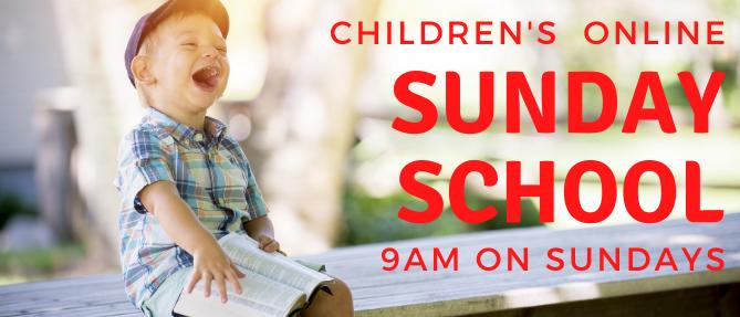 Children's Sunday School - Sundays 9:00 AM