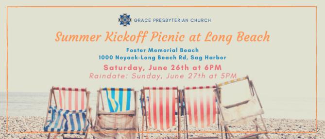 Summer Kickoff Picnic at Long Beach - Jun 26 2021 6:00 PM