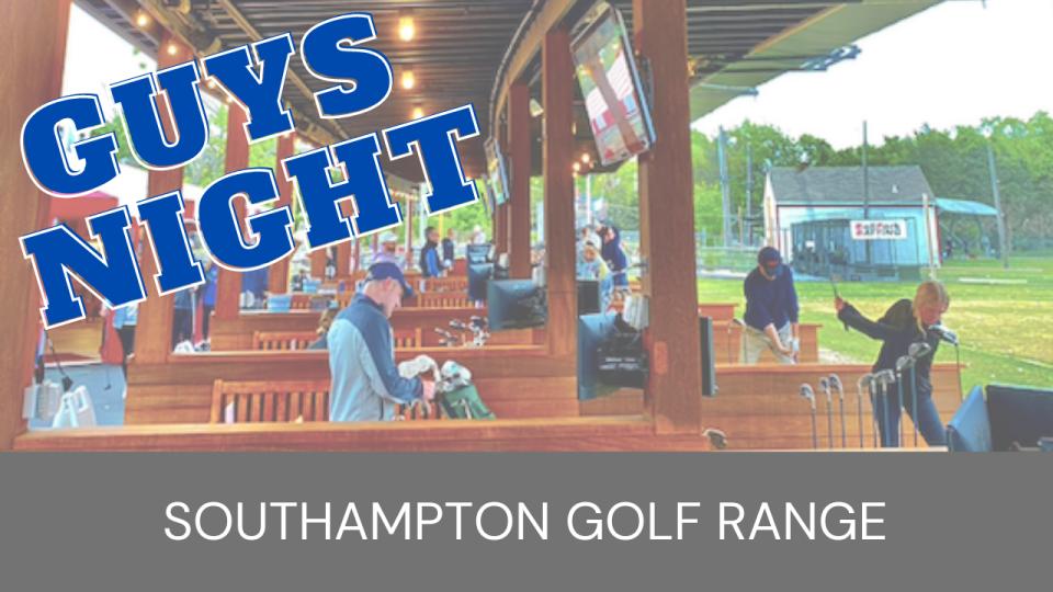 Guys Night Out! Southampton Golf Range